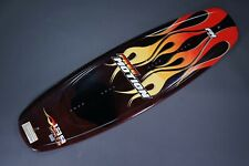 FREE MOTION DRIVE 139CM WAKEBOARD, FLAMES/RED/ORANGE