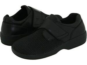 Propet Women's Olivia Comfort Slip On Shoes - Black 10 2E X-Wide NIB