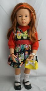 Gotz happy kidz Katharina doll red hair and hazel eyes 19""