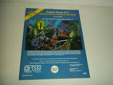 VINTAGE AD&D ADVANCED DUNEONS AND DRAGONS DUNGEON MODULE D1-2 TSR 9059