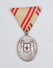 Austria, Silver Red Cross Medal without war decoration, wartime period
