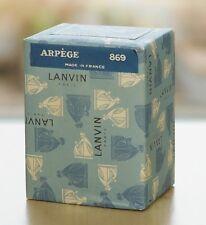 New listing SEALED Vintage 1960s ARPEGE by LANVIN 15 g~1/2 oz~15 ml PURE PARFUM OLD FORMULA