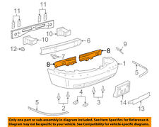 Lincoln FORD OEM 03-11 Town Car Front Bumper-Isolator Left 3W1Z17F799AA