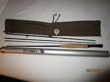 NICE!!! ST. CROIX IMPERIAL GRAPHITE M PTF-8045 FLY ROD 4 WT. W/TUBE