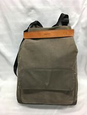RAWROW Wax Canvas Backpack in Olive Hand Convertible R Bag 260 Made in Korea