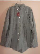 NEW w/tags - Men's - Button Down Shirt - Sz M - Green - Collar - Standard Cuffs