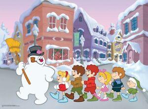 Frosty The Snowman - Follow Frosty Jigsaw Puzzle, 100 Piece