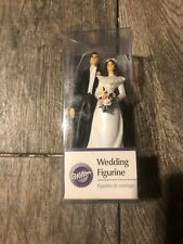 NEW WILTON WEDDING CAKE FIGURINE TOPPER BRIDE AND GROOM