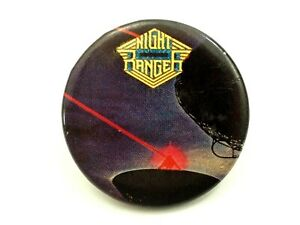 Night Ranger Original 1984 Rock Concert Pinback Button-Up Button 1.25""