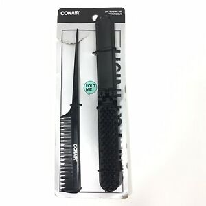 Conair Lift & Finish Teasing Styling Duo Black