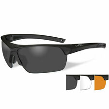 Wiley X GUARD Advanced Safety Military Airsoft Glasses Smoke/Clear/Light Rust