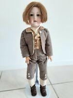 "Antique German Bisque Head 24.5"" Doll Armand Marseille 390 Doll A-9-M"