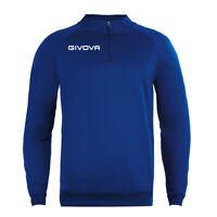 Maglia Tecnica GIVOVA Half Zip 500 Unisex Vari Colori Sport Training Relax Co...
