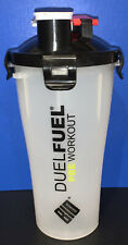 Bio Synergy Duel Fuel Pre & Post Workout Shaker ~ NEW (With defects)