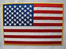 "3118Xl 10"" Extra Large American ,United States Flag Embroidery Applique Patch"