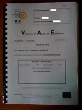 VAE BTS Electrotechnique