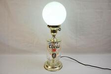 Vintage 1970s Coors Premium Draft Beer Sign Bar Light Globe Lamp Rare Find