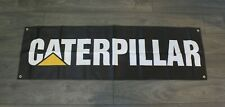 Caterpillar Banner Flag Earth Mover Construction Equipment Machinery Tractor Cat
