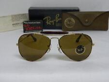 New Vintage B&L Ray Ban Outdoorsman Tortuga Gold Tortoise B-15 58mm  L1705 NOS