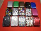 New ! Aluminum Credit Card RFID Aluma Wallet Holder Id Case Assorted Colors