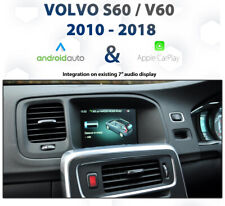 Volvo S60 / V60 2010 - 2018 Apple CarPlay & Android Auto Integration