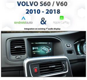 Volvo S60 / V60 2010 - 2018 Apple CarPlay & Android Auto Integration