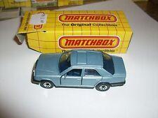 Matchbox Mercedes 300E W/ Box Made In Macau MB58