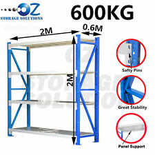 Garage Shelving Longspan Shelving Warehouse Metal Steel Racking 2M x 2M  x0.6M