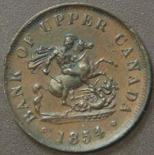 Canada Token 1854 Bank of Upper Canada PC-5C2 Br720 #170529