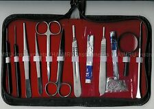 13-Pcs Student Dissecting Kit Student Anatomy Kit Medical Dissection Kit