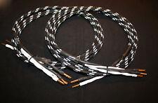 inakustik Black & White REFERENZ LS-1102, 2x 2,5 m, bi-wire, verg. Bananas