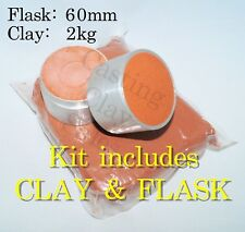 2kg 60mm KIT Delft Style Casting Clay Sand, For Gold Silver Pewter Impression