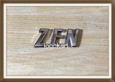 Zen for Maruti 3D Chrome Plated Logo Decal Emblem Monogram for Car/Automobiles