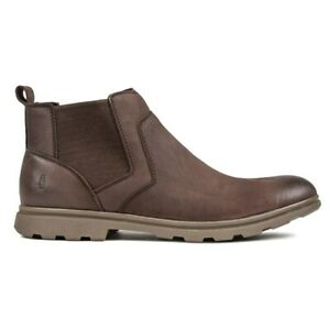 HUSH PUPPIES Mens Tyrone Chelsea Boots Brown