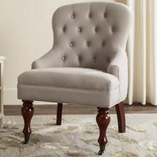 Safavieh Mason Arm Chair Wood, Ecru
