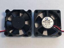 2 Pcs 24V 35mm X 10mm New Cooling Case Fan 6 CFM 2pin PC CPU Brushless 3510s