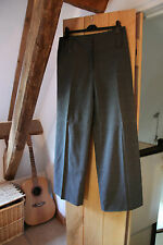 Internacionale Ladies Grey Pinstripe Smart  Soft Trousers Size 14