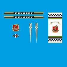 Peugeot Vélo Cadre Stickers - Décalques - Transferts - n.0373