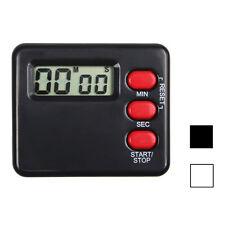 Küche Zeitschaltuhr 99 Minute Digital LCD Sport Countdown Calculator NEU
