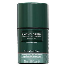 Racing Green Ultra  Hydrating Face Moisturiser Cream for Men, Anti-Fatugue, 45ml