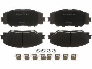 Front AC Delco Brake Pad Set fits Pontiac Vibe 2009-2010 1.8L 4 Cyl 79FZWC