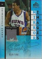 2006-07 Reflections Mirror Image Amare Stoudemire Jermaine O'Neal Jersey /100