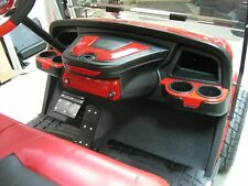EZGO (New Style) TXT Dash Unit with Color matched inserts & locking Glovebox.