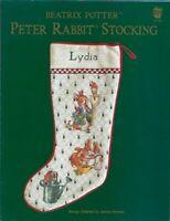 Beatrix Potter Peter Rabbit Stocking for Cross Stitch Green Apple 617E Christmas