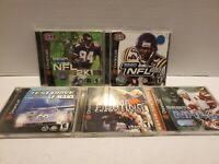 Sega Dreamcast Games Lot of 5 (all complete with manuals) see pics for titles