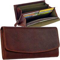 CHIEMSEE Hirsch Leder Damen Geldbörse Brieftasche Geldbeutel stag leather purse