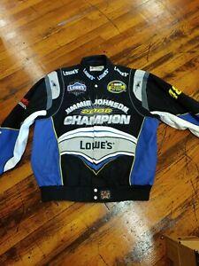 Chase Authentics XL Jimmie Johnson #48 Lowe's 2006 Champion Black NASCAR Jacket
