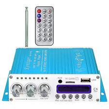 Kentiger V10 Bluetooth Hi-Fi Class-AB Stereo Super Bass Audio Amplifier Blue