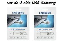 clés USB ( Lot de 2 )   3.0 stick 128 Go Neuve sous blister