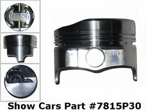 """348 CHEVROLET IMPALA SS BEL AIR 58 59 60 61 ICON FORGED 4"""" STROKER PISTONS .030"""